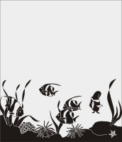 Шаблон рыбы №11