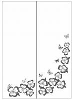 Пескоструйный рисунок бабочки 115