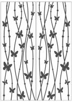 Пескоструйный рисунок бабочки 117