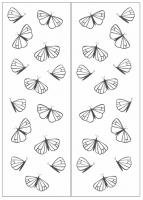 Пескоструйный рисунок бабочки 120