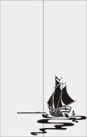Корабль в море №12