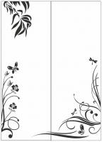 Пескоструйный рисунок бабочки 125