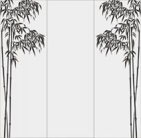 Бамбук в векторе №1