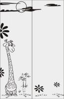 Шаблон Жирафик №7