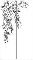 Пескоструйный рисунок дерева №133
