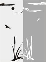 Шаблон Птицы №13