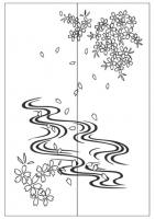 Пескоструйный рисунок дерева №138