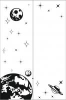 Пескоструйные рисунки Космос №14