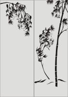 Бамбук в векторе №14