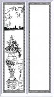 Пескоструйный рисунок ваза 14