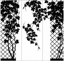 Пескоструйный рисунок дерева №146