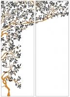 Пескоструйный рисунок дерева №147