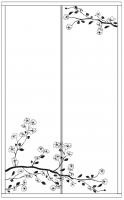 Пескоструйный рисунок дерева №150