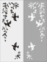 Шаблон Птицы №15