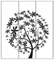 Пескоструйный рисунок дерева №158