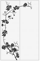 Пескоструйный рисунок дерева №159