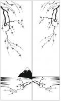 Пескоструйный рисунок дерева №161