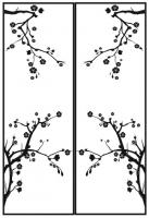Пескоструйный рисунок дерева №162