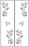 Пескоструйный рисунок птицы №168