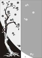 Одинокая сакура №17