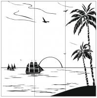 Пескоструйный рисунок  №173