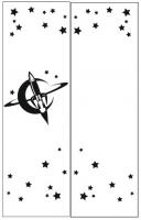 Пескоструйные рисунки Космос №17
