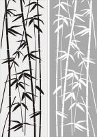 Бамбук в векторе №17
