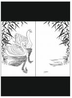 Пескоструйный рисунок птицы №175