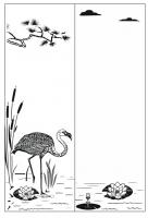 Пескоструйный рисунок птицы №177