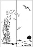 Пескоструйный рисунок №177