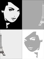 Девушка  и Париж 18