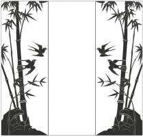 Пескоструйный рисунок птицы №183