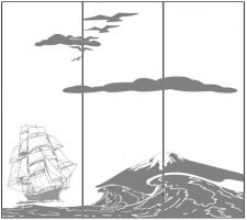 Пескоструйный рисунок №185