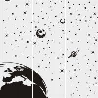 Космос, планеты №1