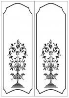 Пескоструйный рисунок ваза 19