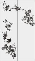 Птицы и сакура №20