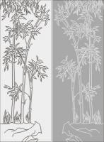 Бамбук в векторе №20
