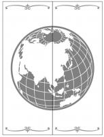 Пескоструйные рисунки Космос №20