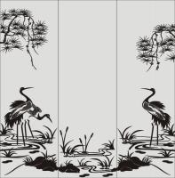 Шаблон птицы №21