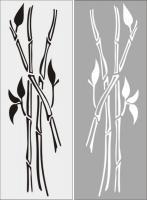 Бамбук в векторе №21