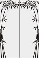 Бамбук в векторе №2