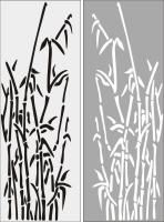 Бамбук в векторе №22