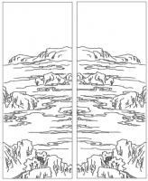 Пескоструйный рисунок №231