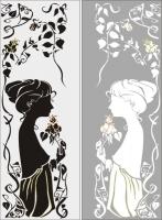 Девушка и розы 23