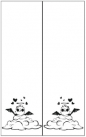 Пескоструйный рисунок  купидон 23