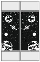 Пескоструйные рисунки Космос №23