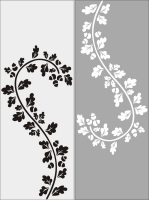 Цветочный узор №23