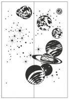 Пескоструйные рисунки Космос №24