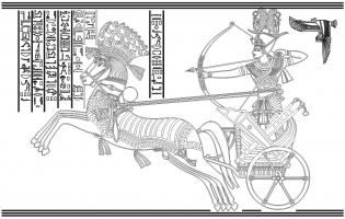 Пескоструйные рисунки Египет №25
