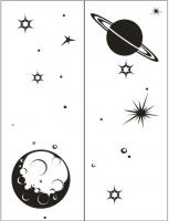 Пескоструйные рисунки Космос №25